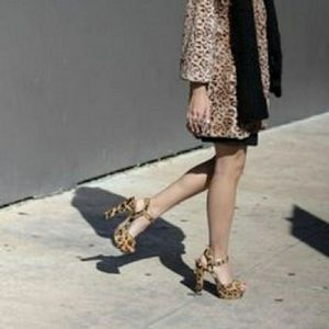 Steve Madden, thick heels open toe shoes
